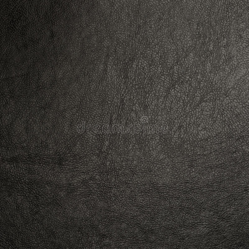 Backgrounds of black leather texture stock photography