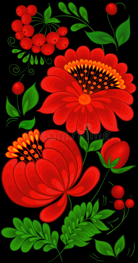 Backgrounds Flower Stock Image