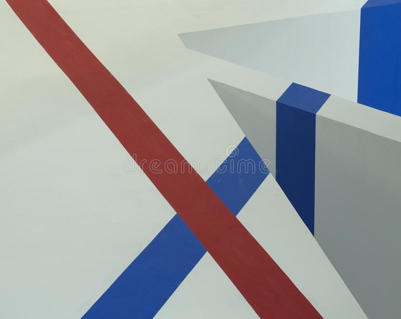 Backgrounds of Red and Blue Lines stock photography