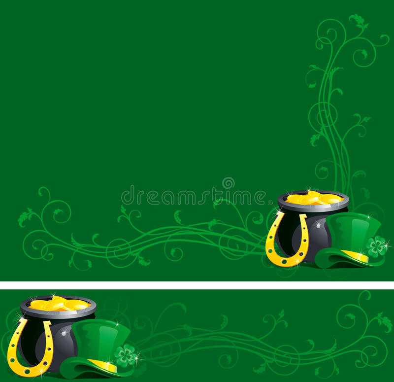 Backgrounds for St. Patricks Day vector illustration