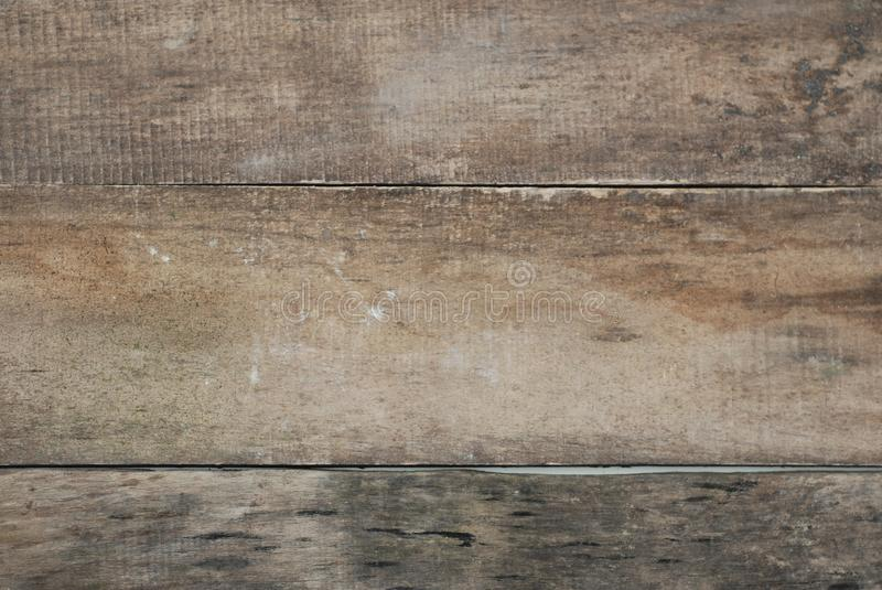 Backgrounds and Texture Concept Old vintage Rustic Gray Wooden Floor Wall. Isolated royalty free stock photo