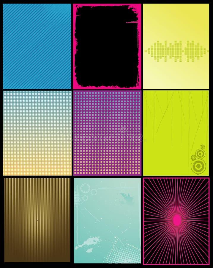 backgrounds vector απεικόνιση αποθεμάτων