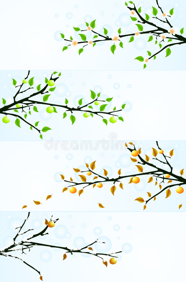 Free Backgrounds With Apple Tree Stock Images - 7870204