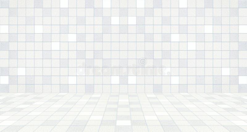 Backgrounen för vägg och för golv för konkret tegelplatta för modern tappning den pastellfärgade royaltyfri illustrationer