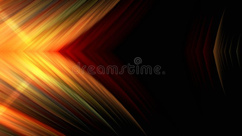 Backgroung for text - bright lights with blur effect, 3d render computer generated illustration vector illustration