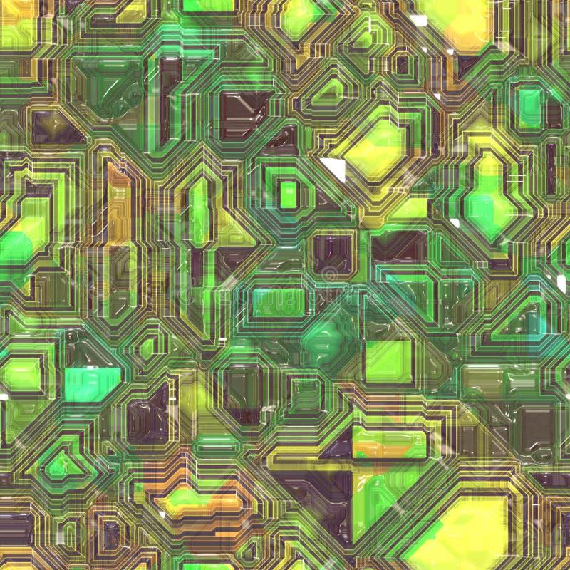 backgrund circuitry technologia ilustracji