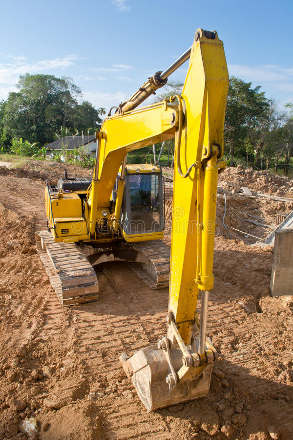 Download Backhoe stock photo. Image of build, vehicle, mover, scoop - 22058378