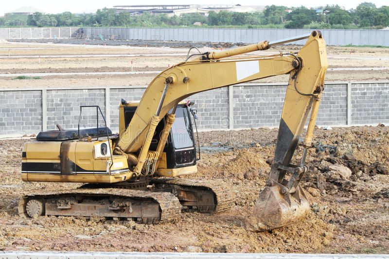 Download Backhoe stock photo. Image of commercial, heavy, industry - 25281794