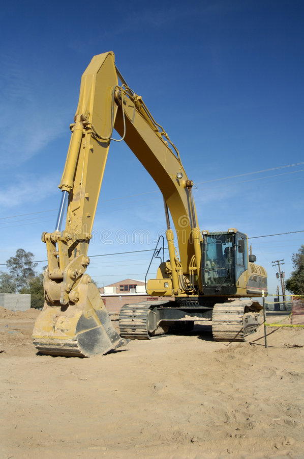 Backhoe 4 Royalty Free Stock Images