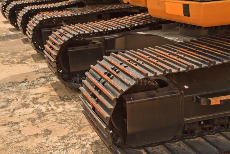 Backhoe Lader stock foto's