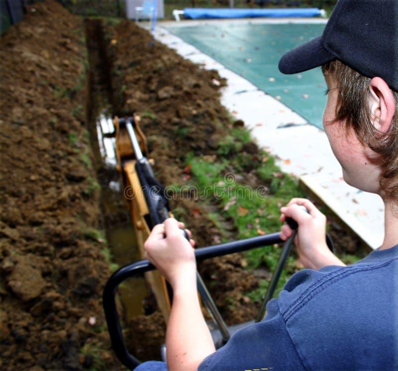 Free Backhoe Operator Royalty Free Stock Photo - 268665