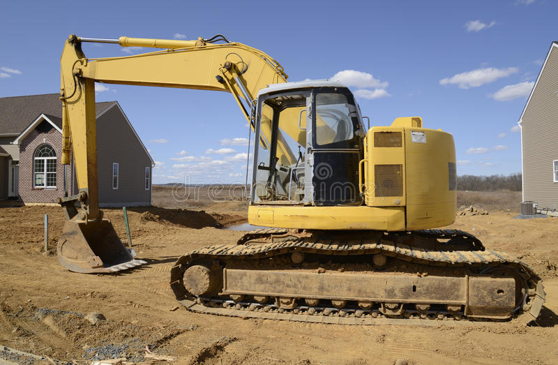 Download Backhoe stock image. Image of machinery, construct, excavation - 30264171