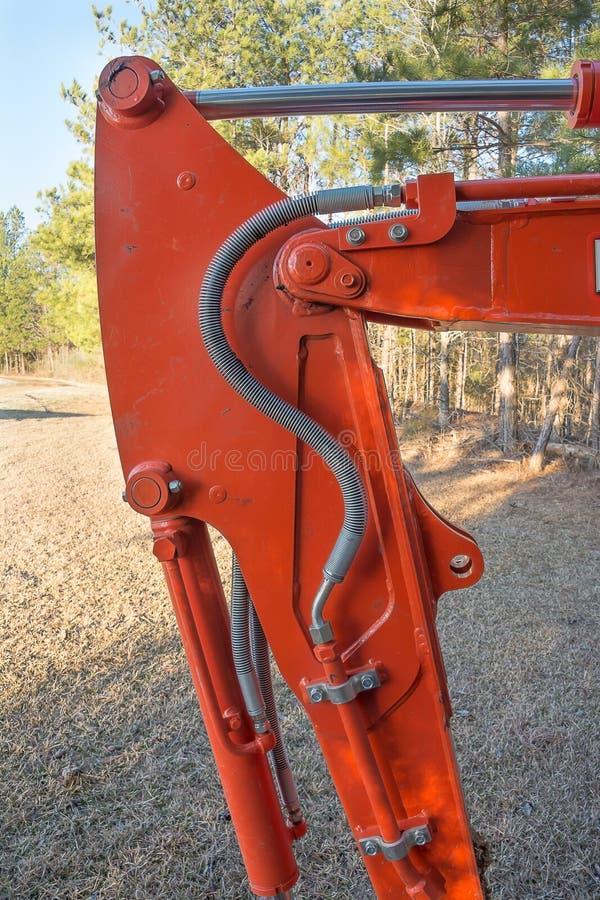 Backhoe Wapen stock foto's