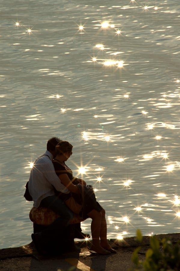 backlight miłości zdjęcie stock