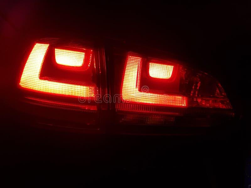 Backlights гольфа VII Фольксвагена стоковое фото rf