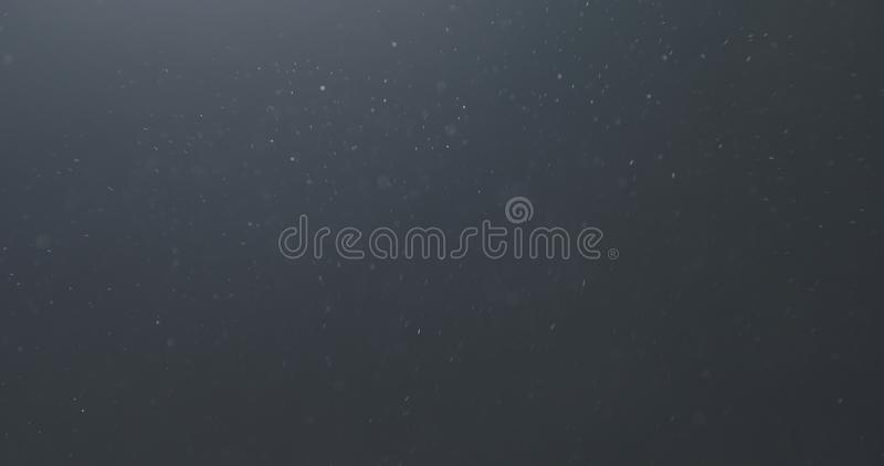 Backlit dust particles explosion effect on a black background with motion blur. Wide photo stock image