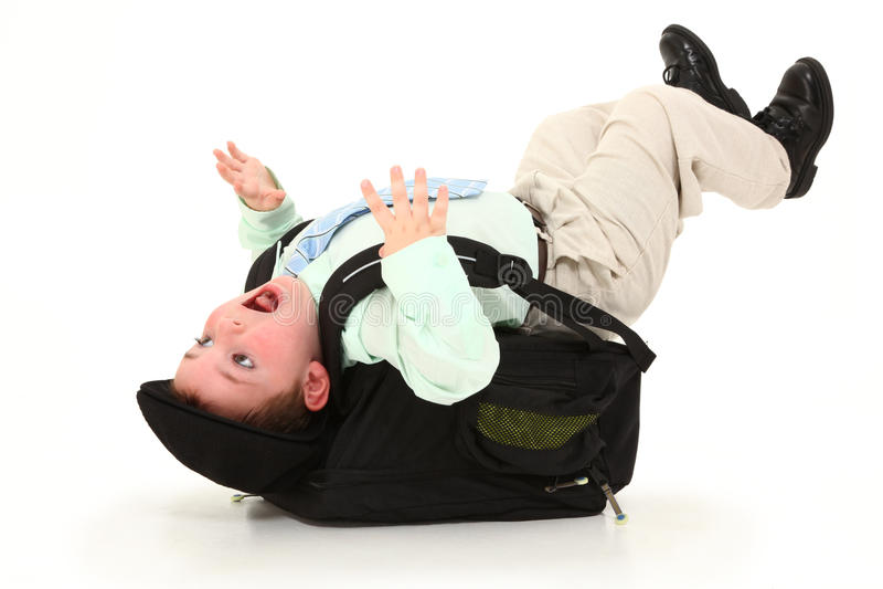 backpack βαρύ στοκ εικόνες
