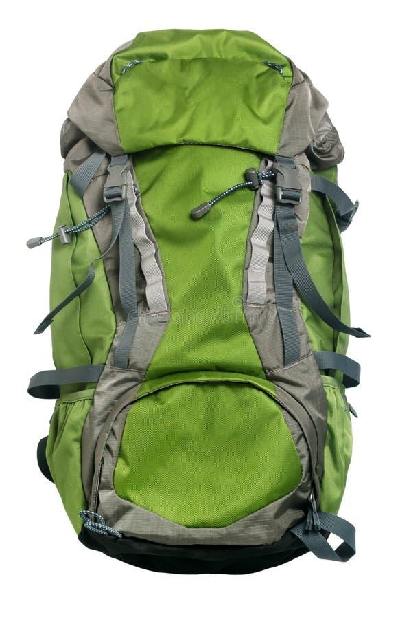 Backpack on Isolated white background. Photo take on 2016 stock photography