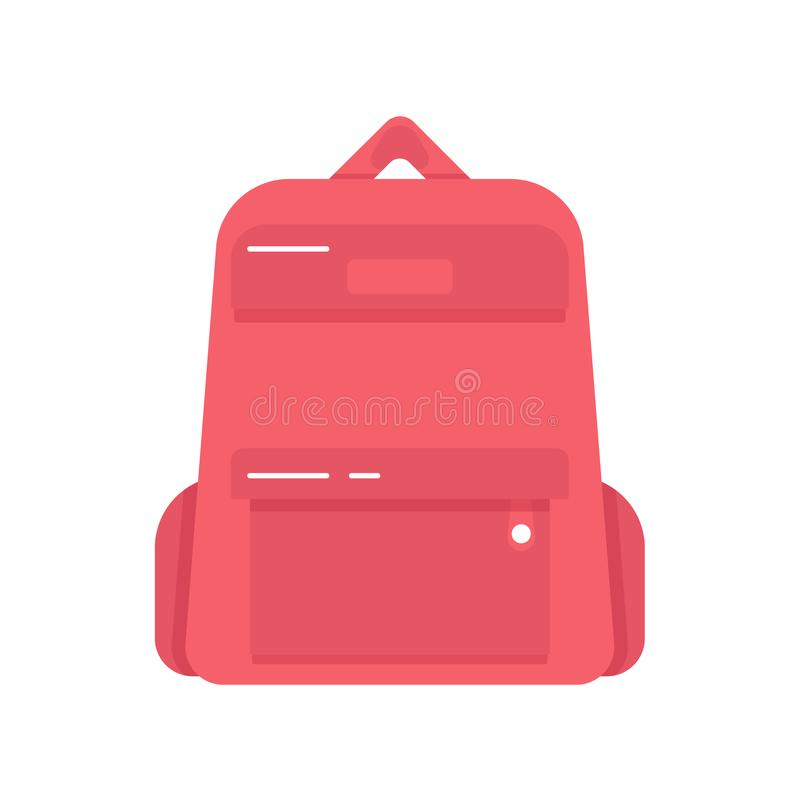Notebooks Mockup With Black Element On Black Background: Satchel. School Bag. Vector Illustration Isolated On White