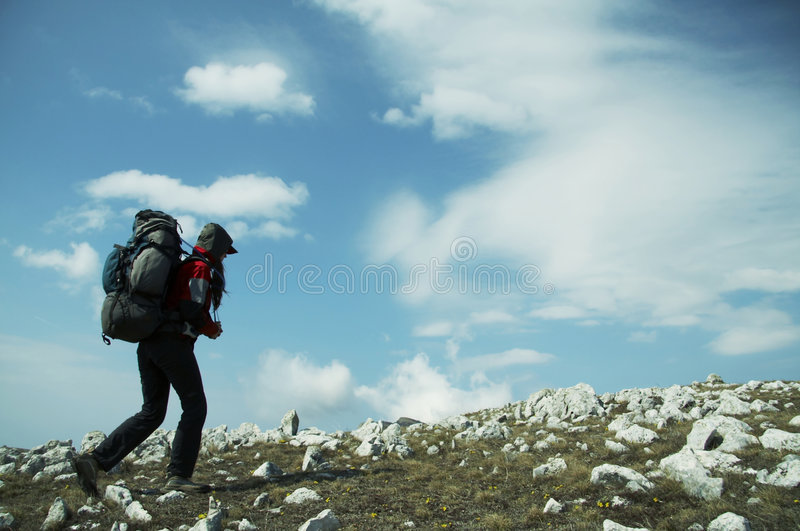 Download Backpacker stock image. Image of extreme, healthy, equipment - 2320353