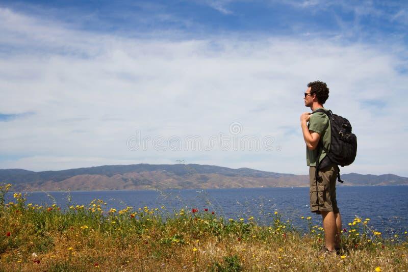 Backpacker стоковая фотография