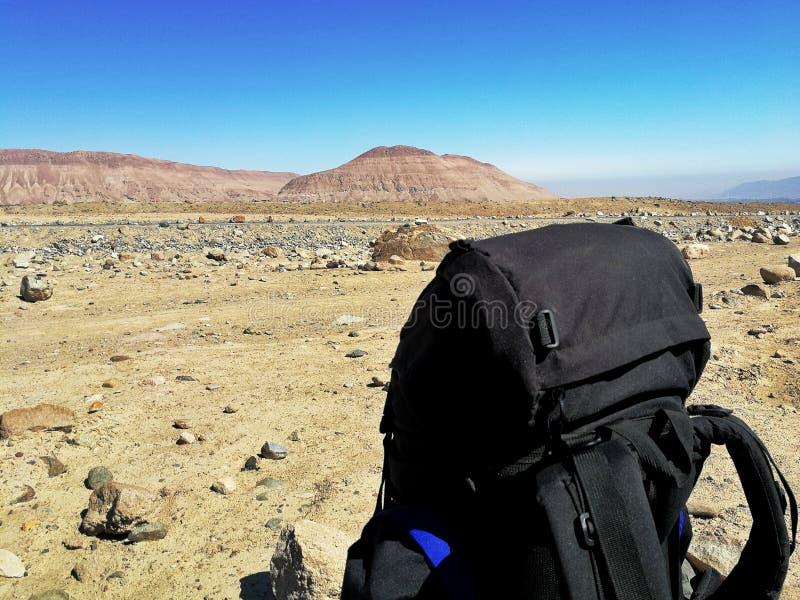 backpacker fotografía de archivo libre de regalías