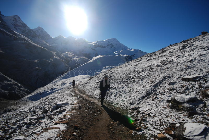 Download Backpacker in the outdoors stock photo. Image of exploring - 19524020