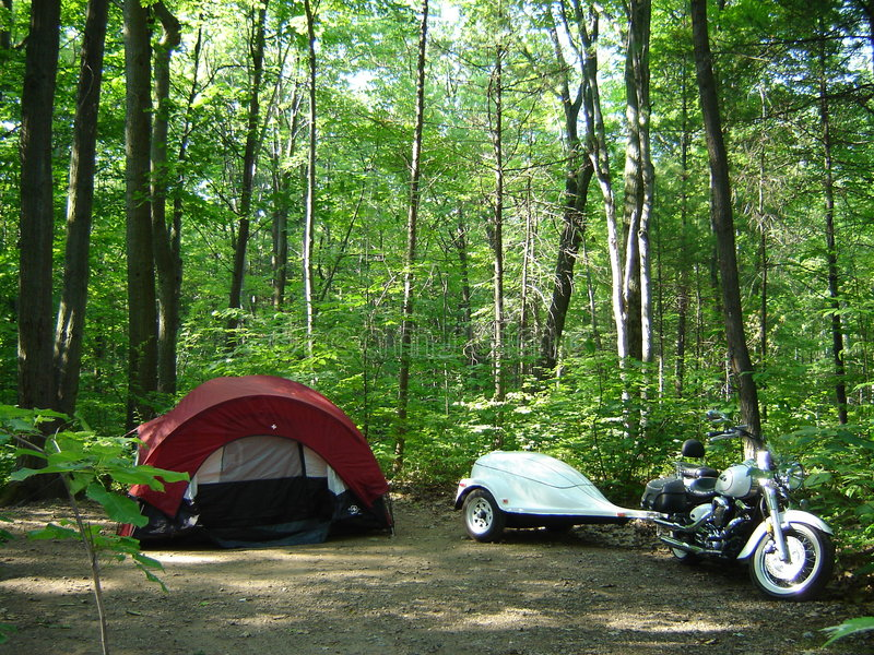 backpacking καναδικό δάσος στοκ φωτογραφία με δικαίωμα ελεύθερης χρήσης