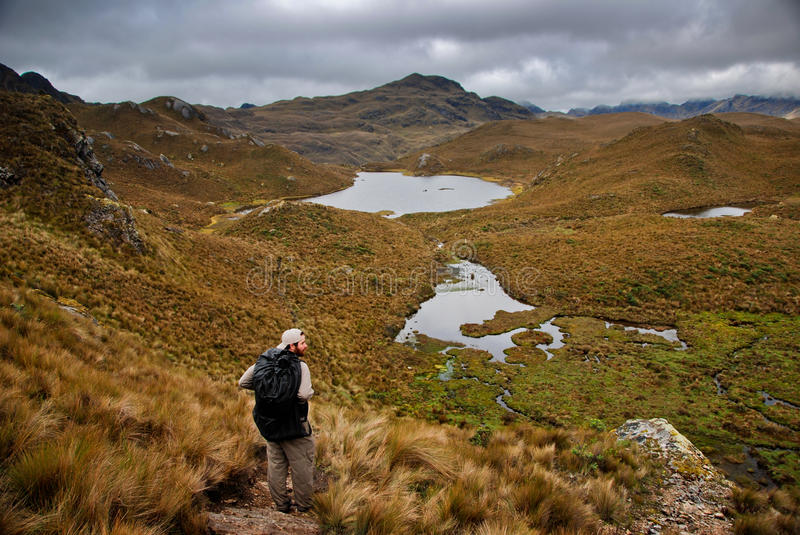 Download Backpacking In The Outdoors Stock Photo - Image: 22454660