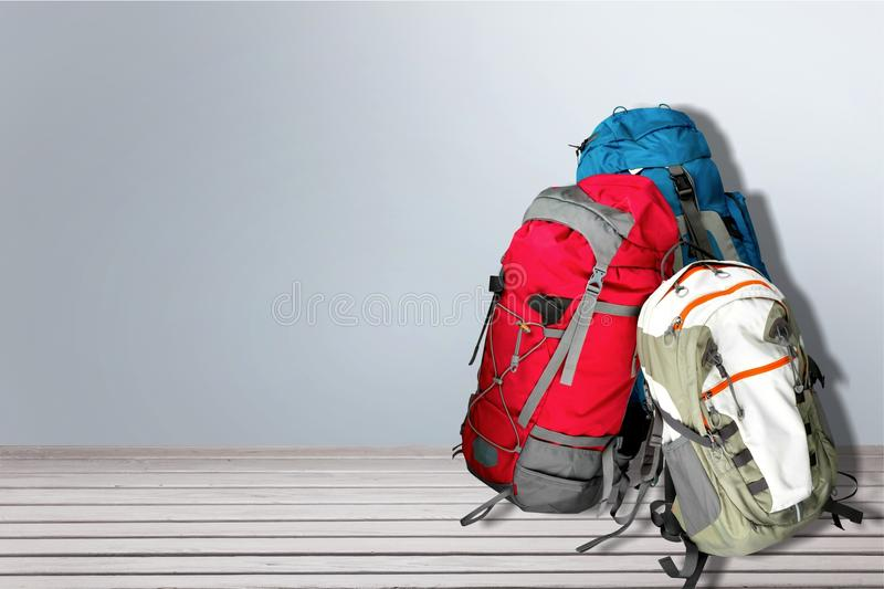 backpacks fotografia de stock royalty free