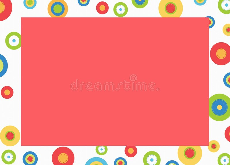 Download Backround stock illustration. Image of color, frame, shapes - 7636279