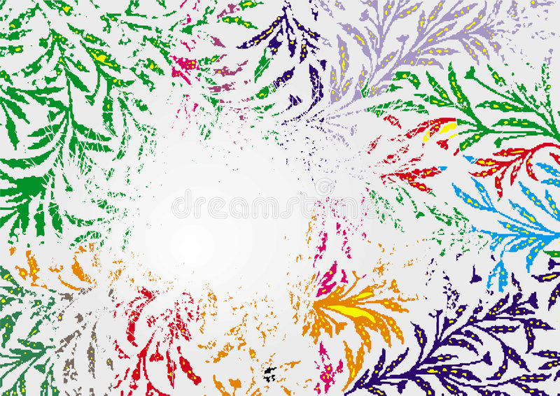 Download Backround Of Abstract Plant Stock Vector - Illustration of element, backround: 5173971