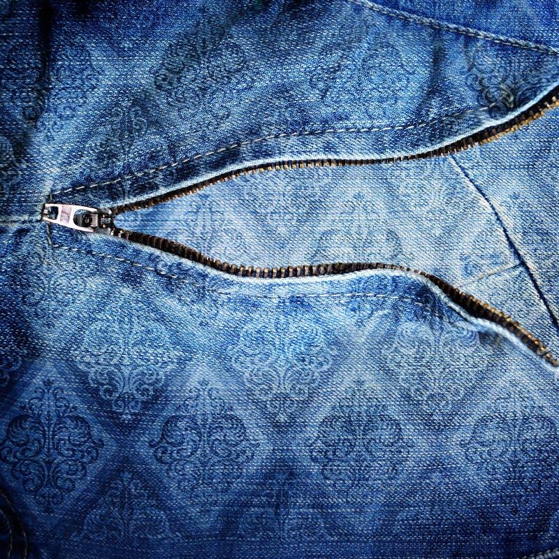 Backround astratto dei jeans immagini stock