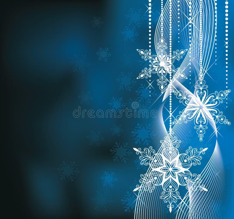 Backround de la Navidad. stock de ilustración