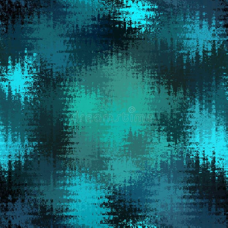 Backround de los triángulos de la onda del azul y de la turquesa con efecto blured imagenes de archivo