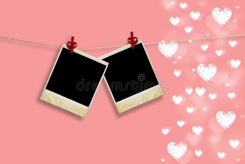 Backround del día de tarjeta del día de San Valentín libre illustration