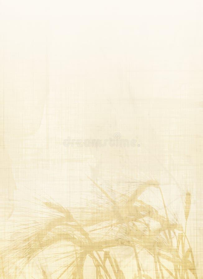 Backround del trigo libre illustration