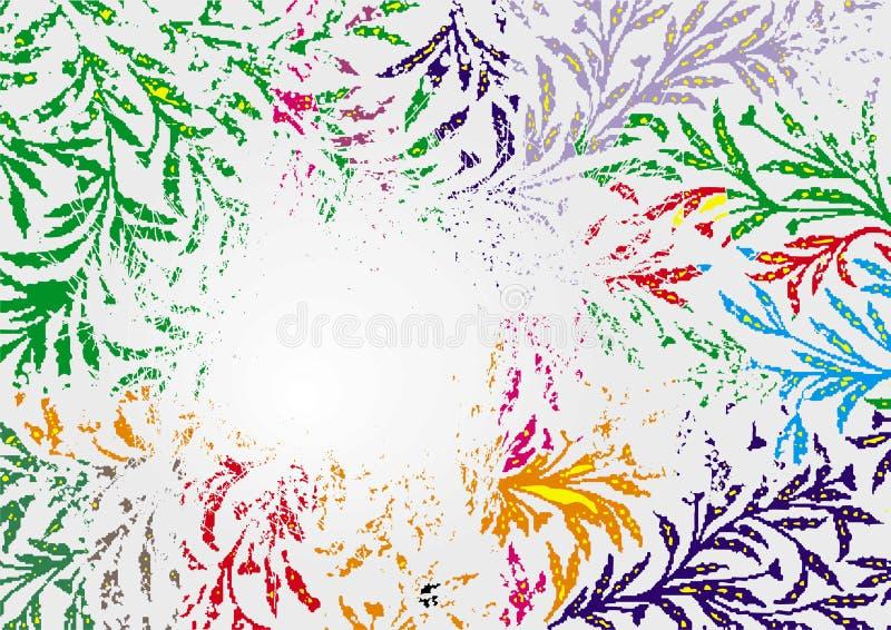 Backround della pianta astratta royalty illustrazione gratis