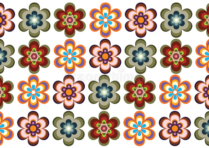 backround kwiat royalty ilustracja