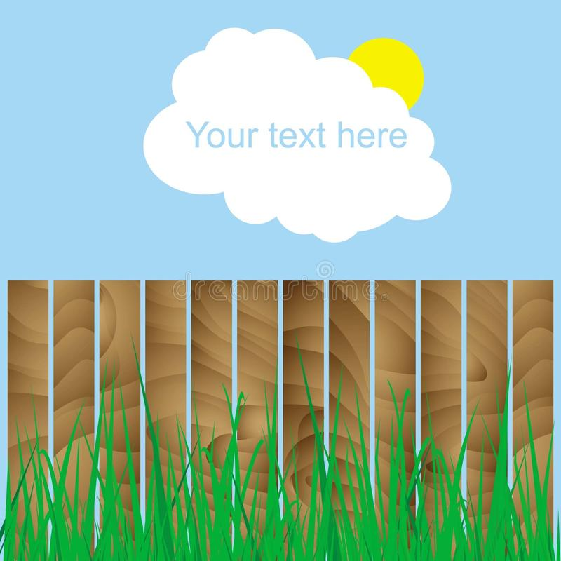 Backround met plaats voor tekst vector illustratie