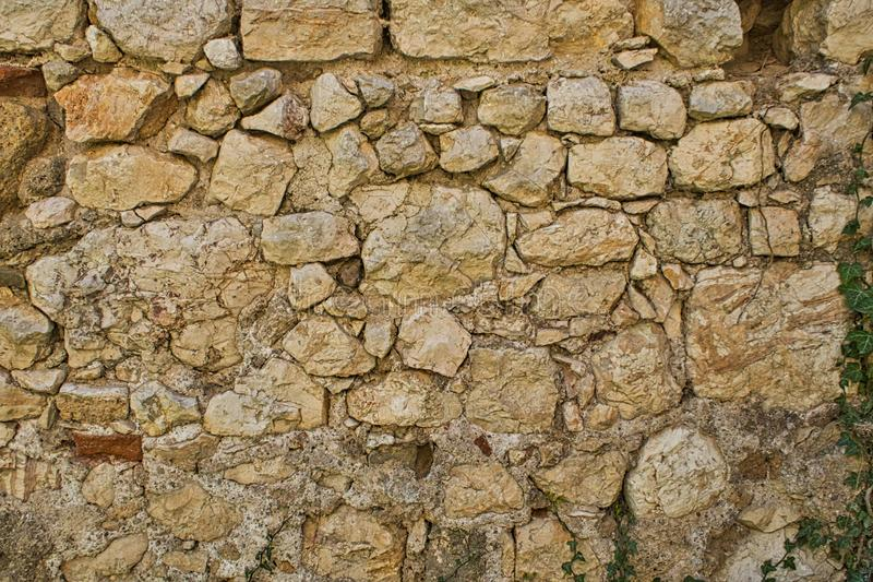 Backround from an old stone wall castle royalty free stock photos