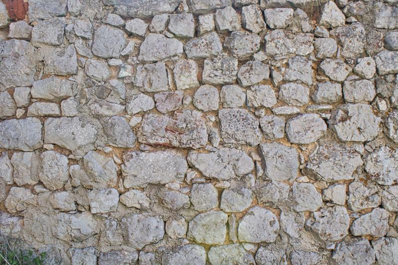 Backround old stone wall castle royalty free stock photography