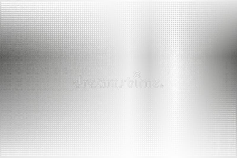 Backround pontilhado do sumário do metal ilustração do vetor