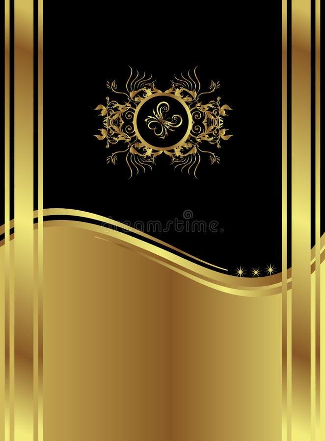 Backround preto clássico imagem de stock royalty free