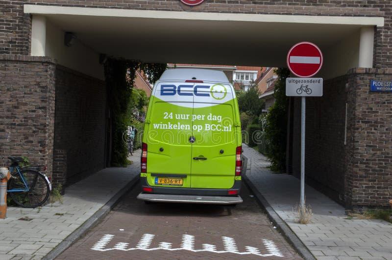 Backside BCC Company Car Alla Betondorp Amsterdam Paesi Bassi 2019 fotografie stock libere da diritti