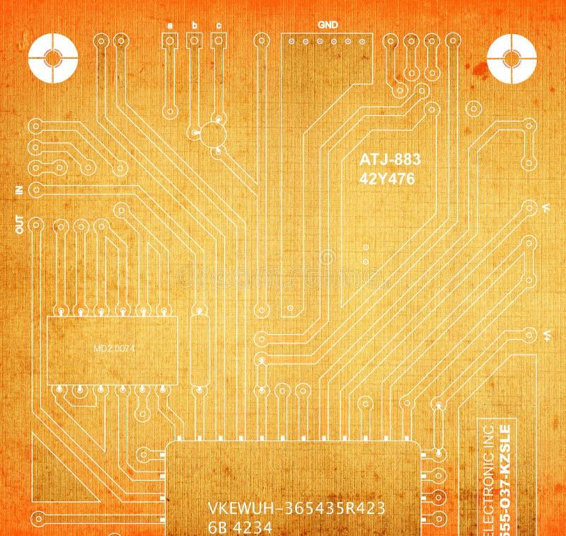 Download Backside Circuit Board Royalty Free Stock Photos - Image: 1966108