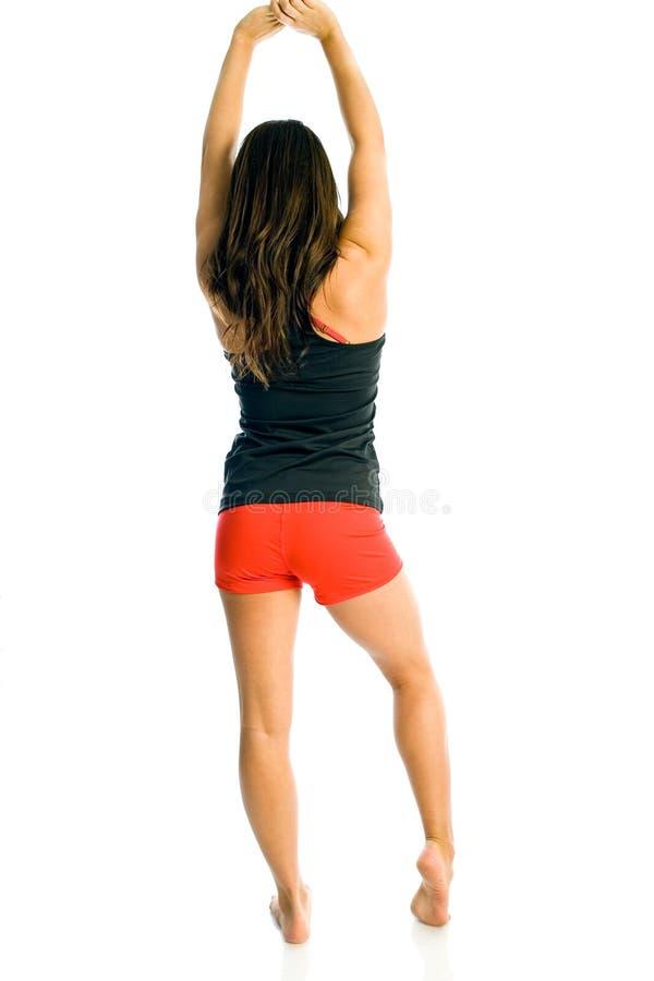 Teen Girl Fitness Jogger stock photo. Image of teen