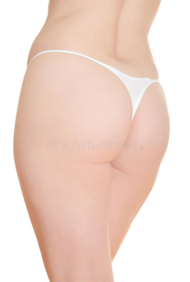 Backside Of Mature Woman Royalty Free Stock Photos