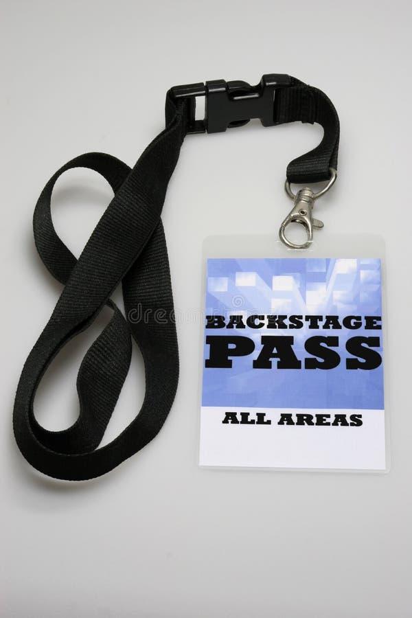 Backstage passaggio fotografia stock libera da diritti