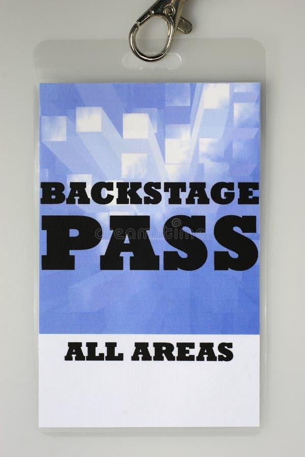 Backstage passaggio fotografie stock libere da diritti